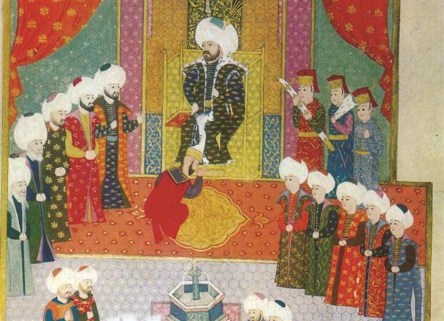 Osmanlı Padişahının Önünde Secde Etmek