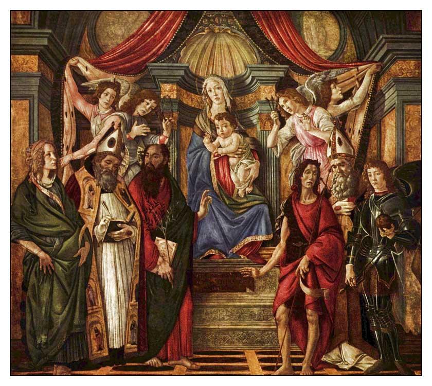Sandro Botticelli'nin Tablosu